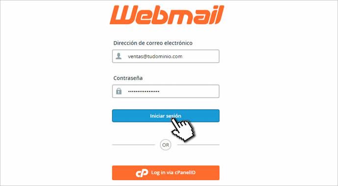 acceder al webmail de hosting